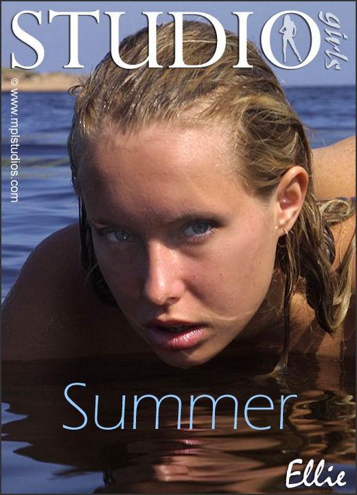 Ellie in Summer gallery from MPLSTUDIOS by Alexander Fedorov