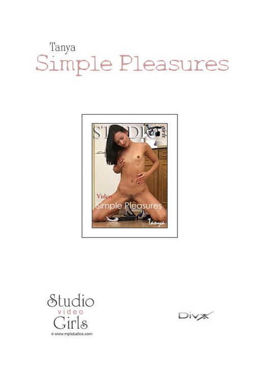 Tanya - `Simple Pleasures` - for MPLSTUDIOS