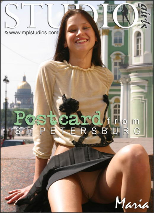 Maria - `Postcard From St. Petersburg` - by Alexander Fedorov for MPLSTUDIOS