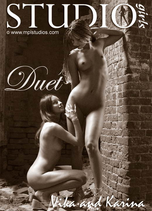 Vika And Karina - `Duet` - by Alexander Fedorov for MPLSTUDIOS