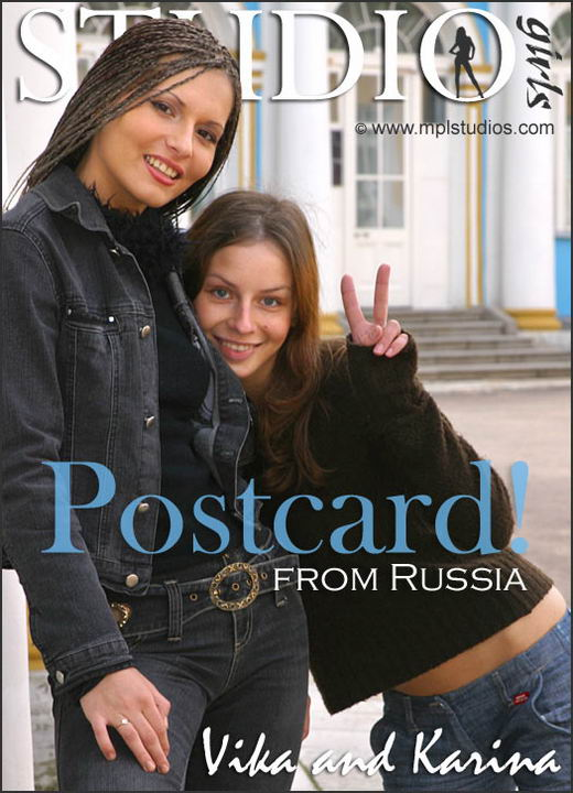 Vika And Karina - `Postcard From Russia` - by Alexander Fedorov for MPLSTUDIOS