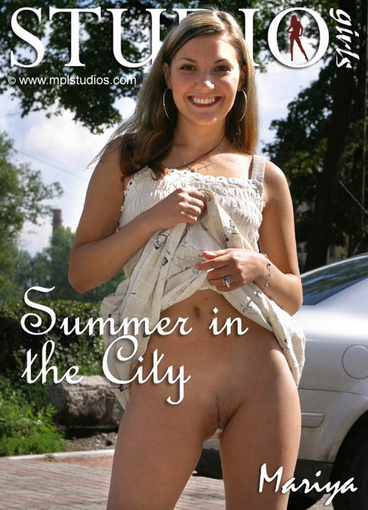 Mariya in Summer In The City gallery from MPLSTUDIOS by Alexander Fedorov