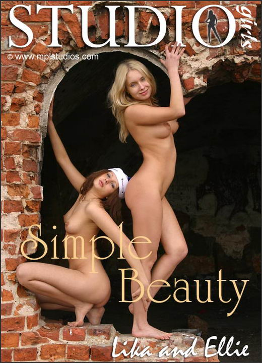 Lika And Ellie in Simple Beauty gallery from MPLSTUDIOS by Alexander Fedorov