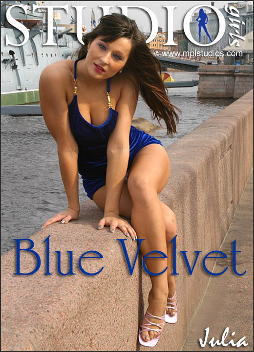 Julia - `Blue Velvet` - by Alexander Fedorov for MPLSTUDIOS
