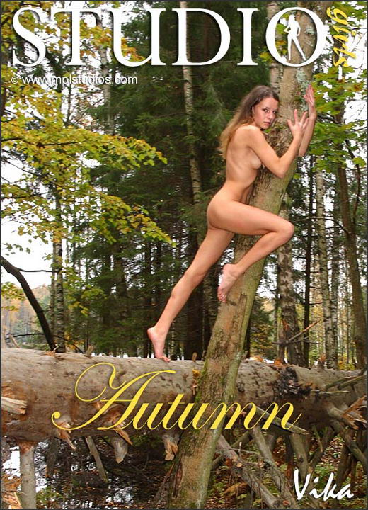 Vika in Autumn gallery from MPLSTUDIOS by Alexander Fedorov