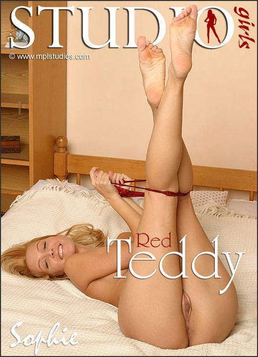 Sophie Moone - `Red Teddy` - for MPLSTUDIOS