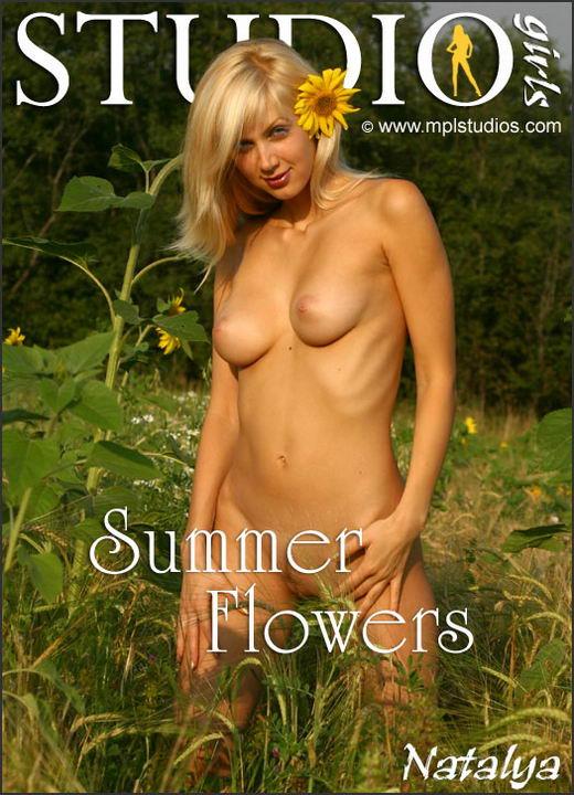 Natalya - `Summer Flowers` - by Alexander Lobanov for MPLSTUDIOS