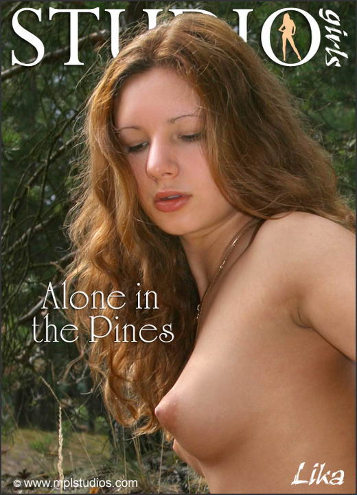 Lika in Alone In The Pines gallery from MPLSTUDIOS by Alexander Fedorov