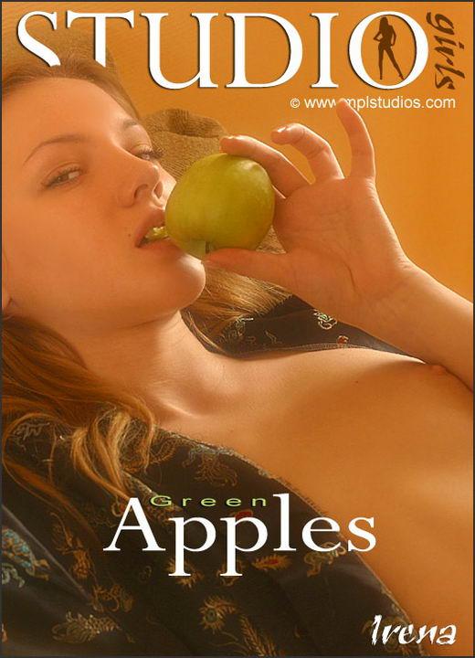 Irina in Green Apples gallery from MPLSTUDIOS by Alexander Fedorov