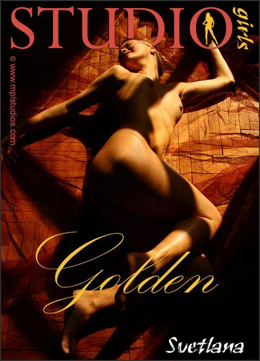Svetlana in Golden gallery from MPLSTUDIOS by Alexander Fedorov