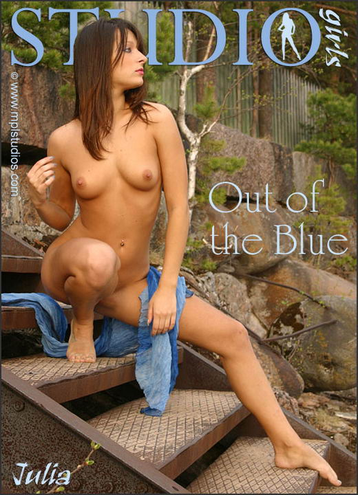 Julia - `Out Of The Blue` - by Alexander Fedorov for MPLSTUDIOS