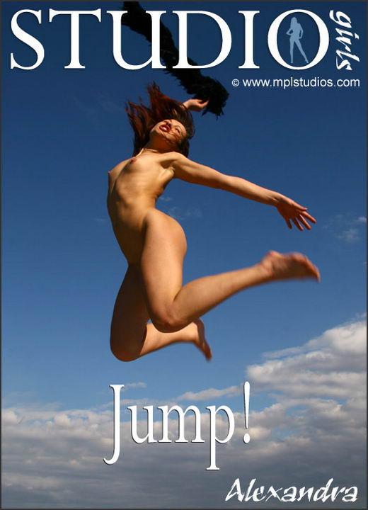 Alexandra in Jump! gallery from MPLSTUDIOS by Alexander Fedorov