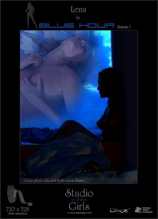 Lena - `Blue Hour` - by Alexander Fedorov for MPLSTUDIOS
