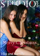 Vika And Kamilla in Merry Christmas gallery from MPLSTUDIOS by Alexander Fedorov