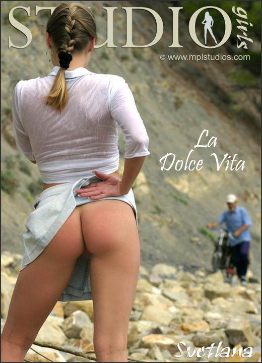 Svetlana in La Dolce Vita gallery from MPLSTUDIOS by Alexander Lobanov