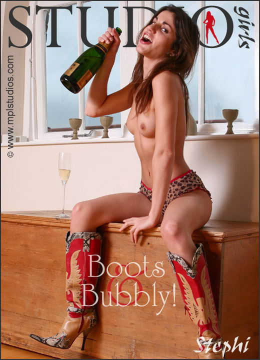 Stephi in Boots And Bubbly gallery from MPLSTUDIOS by Diana Kaiani