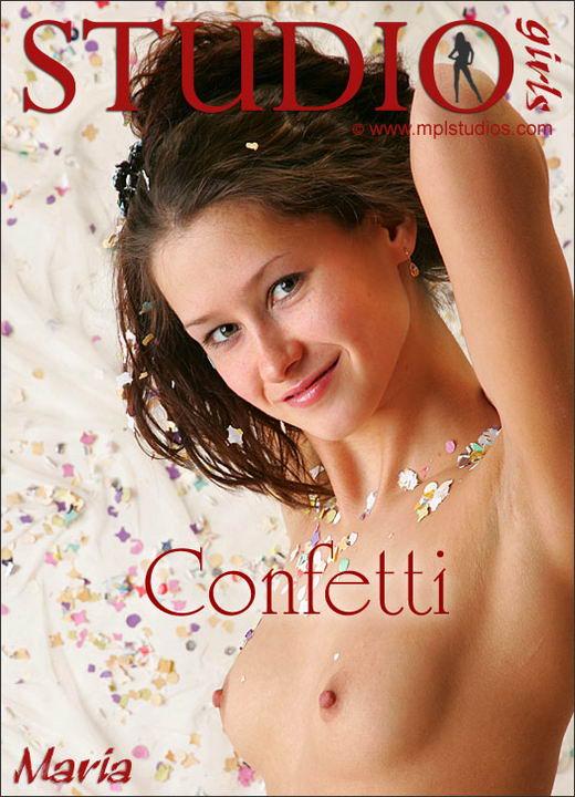 Maria - `Confetti` - by Alexander Fedorov for MPLSTUDIOS