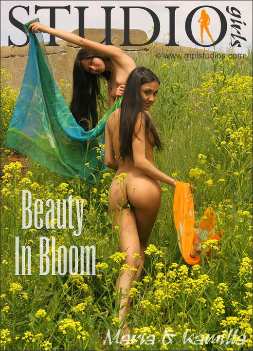 Maria And Kamilla - `Beauty in bloom` - by Alexander Fedorov for MPLSTUDIOS