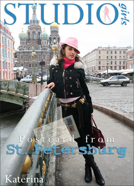 Katerina - `Postcard From St. Petersburg` - by Mikhail Paromov for MPLSTUDIOS