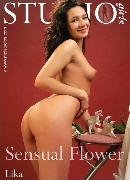 Lika in Sensual Flower gallery from MPLSTUDIOS by Alexander Fedorov
