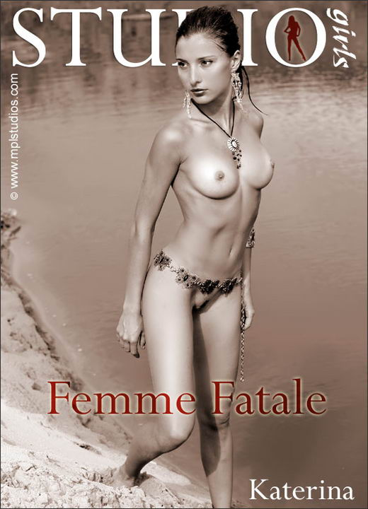 Katerina in Femme Fatale gallery from MPLSTUDIOS by Mikhail Paromov