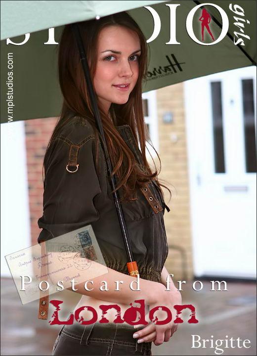 Brigitte in Postcard From London gallery from MPLSTUDIOS by Diana Kaiani