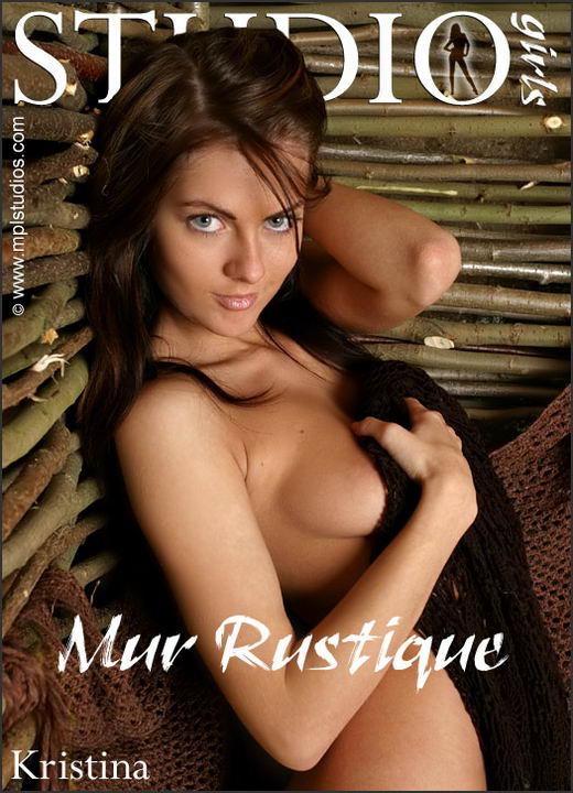 Kristina in Mur Rustique gallery from MPLSTUDIOS by Alexander Lobanov