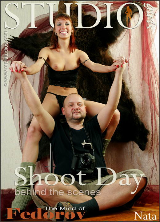 Nata - `Shoot Day: Behind The Scenes` - by Dima Dimitrakov for MPLSTUDIOS