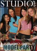 Studio Girls Model Party