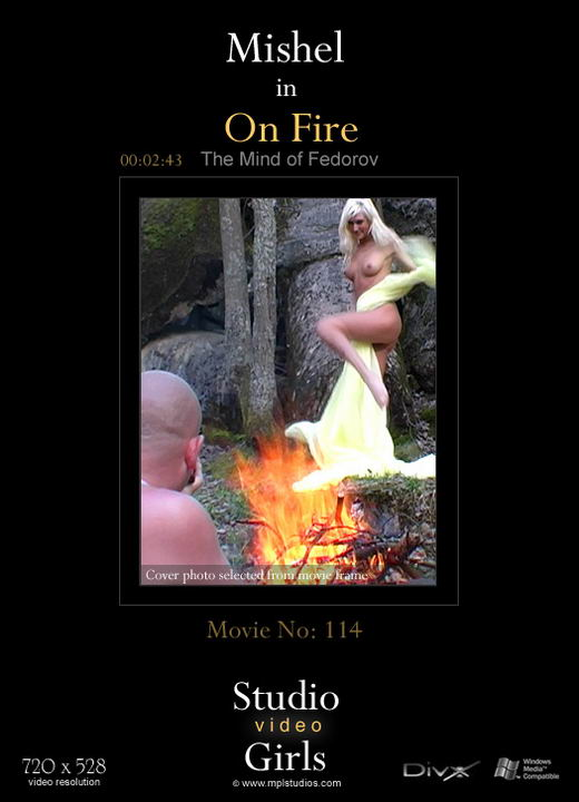 Mishel - `On Fire:` - by Alexander Fedorov for MPLSTUDIOS