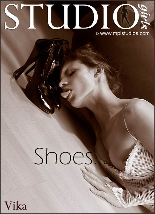 Vika - `Shoes` - by Alexander Fedorov for MPLSTUDIOS