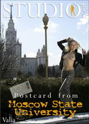 Postcard from Moscow State University