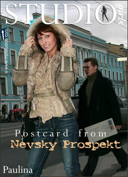 Paulina - `Postcard from Nevsky Prospekt` - by Alexander Fedorov for MPLSTUDIOS