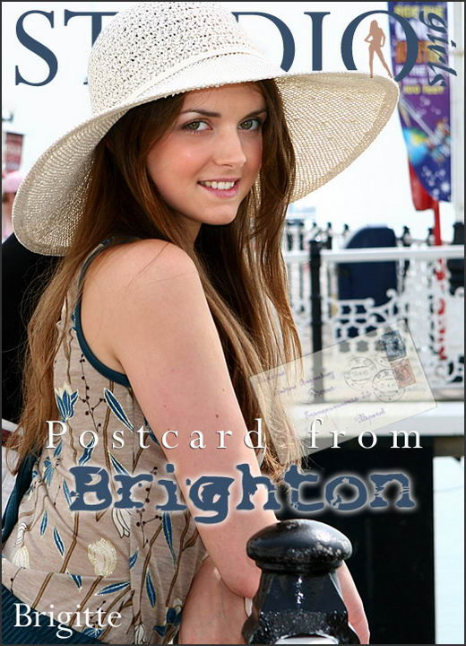 Brigitte - `Postcard from Brighton` - for MPLSTUDIOS