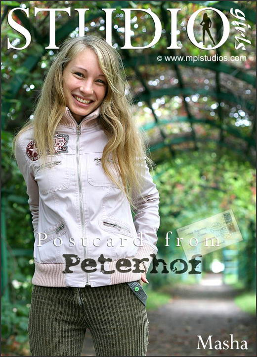 Masha - `Postcard from Peterhof` - by Paromov for MPLSTUDIOS