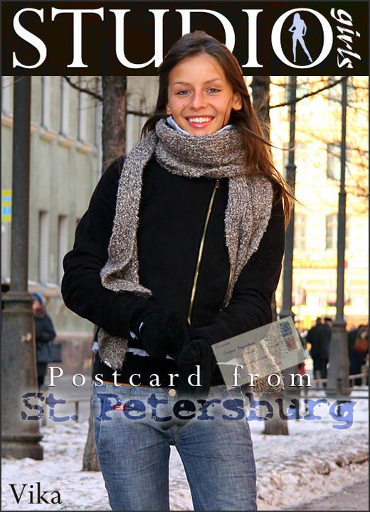 Vika - `Postcard From: St. Petersburg` - by Alexander Fedorov for MPLSTUDIOS