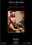 Vika and Kamilla - Shoot Day: Holiday Behind the Scenes