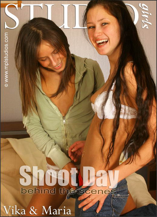 Vika and Maria - `Shoot Day: Behind the Scenes` - by Alexander Fedorov for MPLSTUDIOS