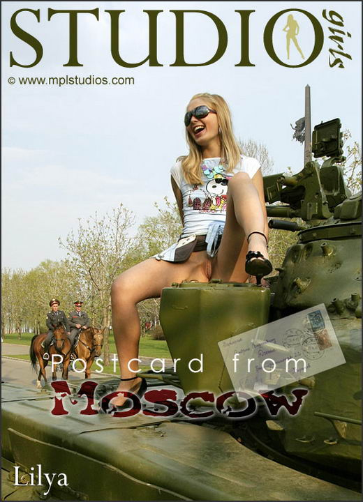 Lilya - `Postcard from Moscow` - by Alexander Lobanov for MPLSTUDIOS