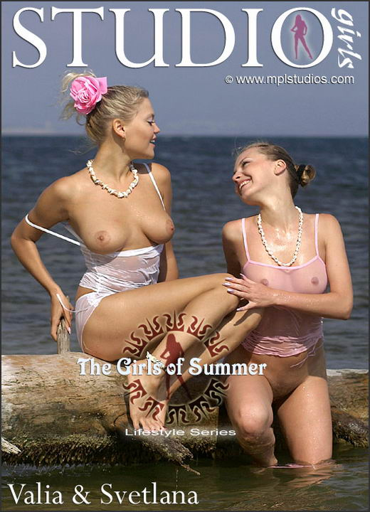 Svetlana and Valia - `The Girls of Summer` - by Alexander Lobanov for MPLSTUDIOS