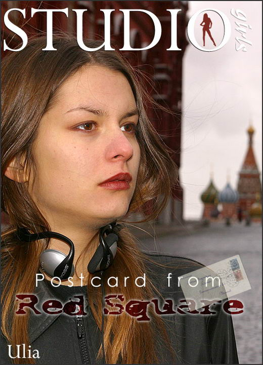 Ulia - `Postcard from Red Square` - by Alexander Lobanov for MPLSTUDIOS