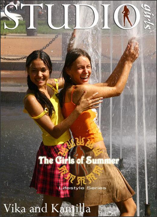 Vika & Kamilla - `The Girls of Summer` - by Alexander Fedorov for MPLSTUDIOS