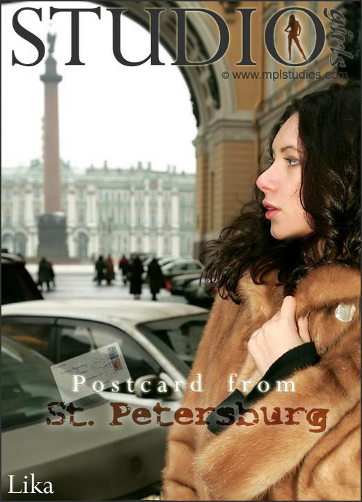 Lika - `Postcard: from St. Petersburg` - by Alexander Fedorov for MPLSTUDIOS
