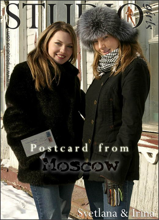 Irina and Svetlana - `Postcard: from Moscow` - by Alexander Lobanov for MPLSTUDIOS