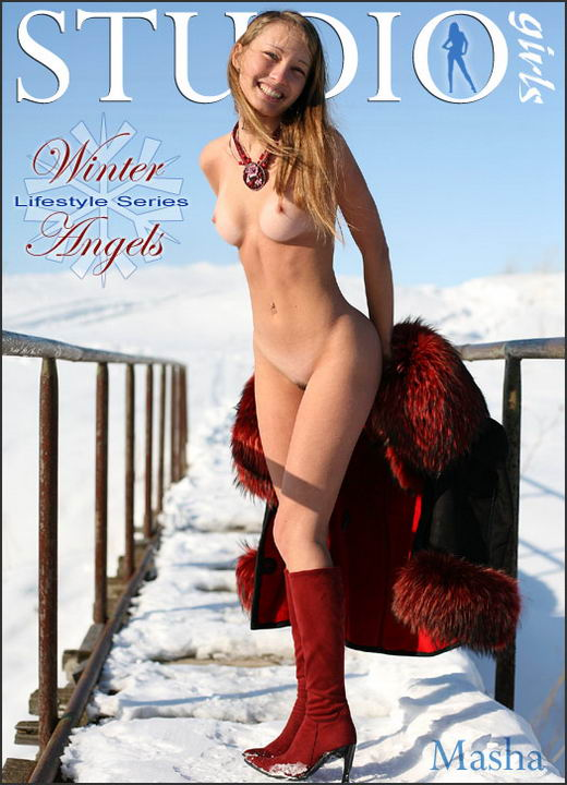 Masha - `Winter Angels` - by Mikhail Paromov for MPLSTUDIOS