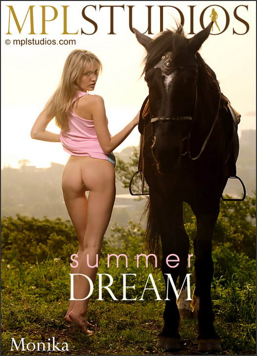 Monika - `Summer Dream` - by Jan Svend for MPLSTUDIOS