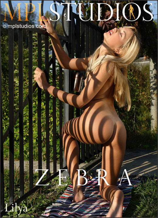 Lilya - `Zebra` - by Alexander Lobanov for MPLSTUDIOS