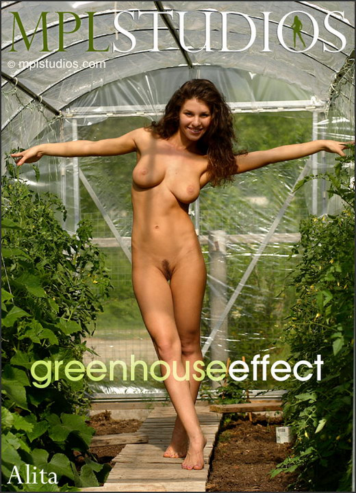 Alita in Greenhouse Effect gallery from MPLSTUDIOS by Alexander Lobanov