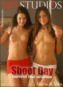 Vika and Maria in Shoot Day Behind the Scenes gallery from MPLSTUDIOS by Alexander Fedorov