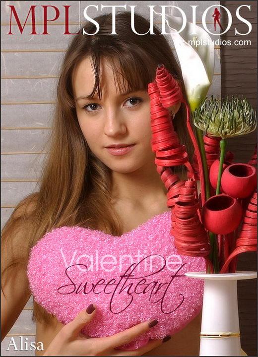 Alisa - `Valentine Sweetheart` - by Alexander Fedorov for MPLSTUDIOS